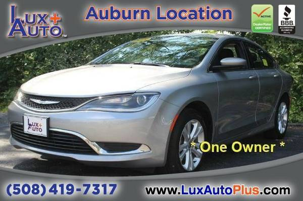 2015 Chrysler 200 Limited - One Owner Sedan 200 Chrysler