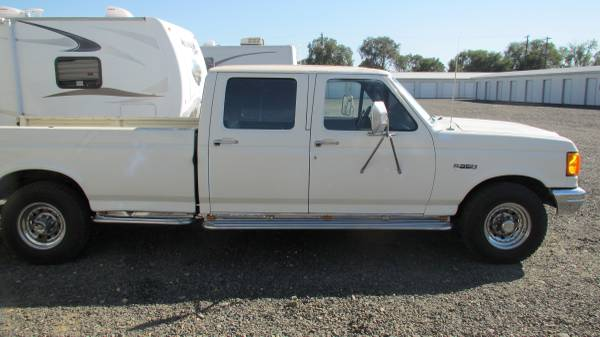 1989 Ford F350 1 Ton Crew cab pick-up Truck