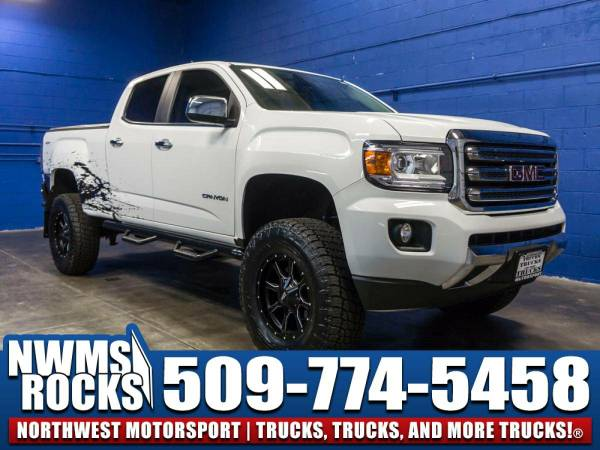 Lifted 2015 *GMC Canyon* SLT 4x4 - 2015 GMC Canyon SLT 4x4 Truck w/...