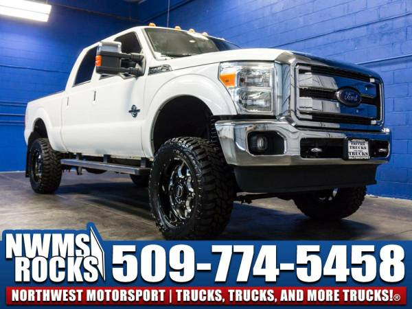 Lifted 2013 *Ford F350* Lariat 4x4 - FORD POWERSTROKES! 2013 Ford...