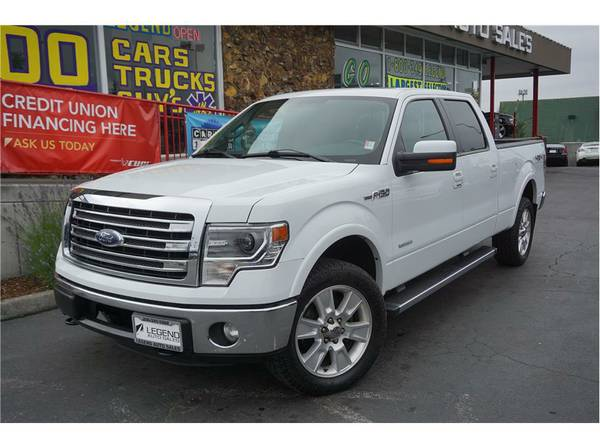 2013 Ford F150 SuperCrew Cab Truck Lariat Pickup 4D 6 1 2 ft