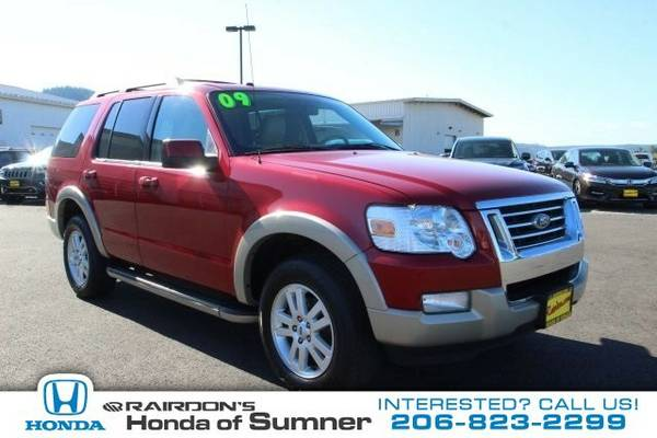 2009 Ford Explorer Eddie Bauer SUV Explorer Ford