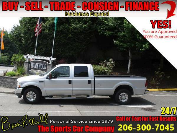 2003 FORD F-350 SRW 4X2 CREW CAB~LOW MILES~HARD TO FIND