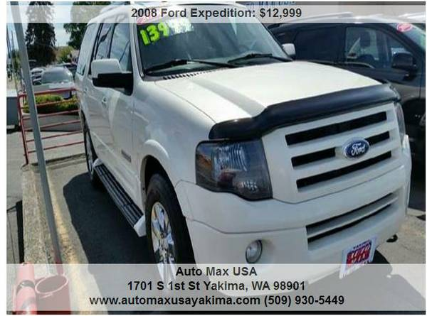 2008 Ford Expedition Limited 4x4 MECHANICAL SPECAL !!!