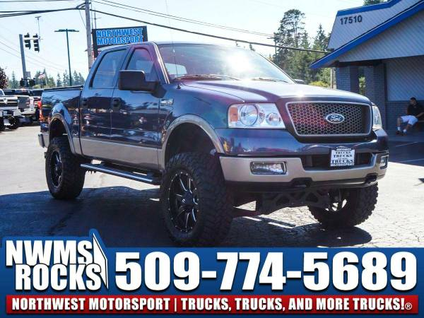Lifted 2005 *Ford F150* 4x4 - 2005 Ford F-150 4x4 Lifted Truck w/...