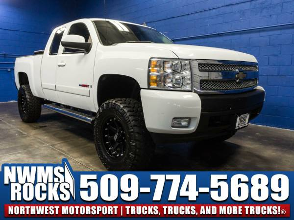 Lifted 2007 *Chevrolet Silverado* 1500 LTZ 4x4 - Power Driver Seat!...