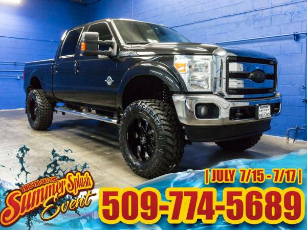 Lifted 2015 *Ford F350* Lariat 4x4 - BRAND NEW LIFT! 2015 Ford F-350...