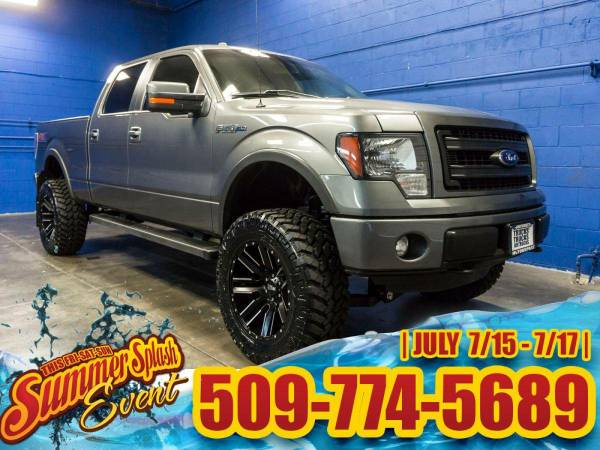 Lifted 2014 *Ford F150* FX4 4x4 - Rear Backup Camera! 2014 Ford F-150