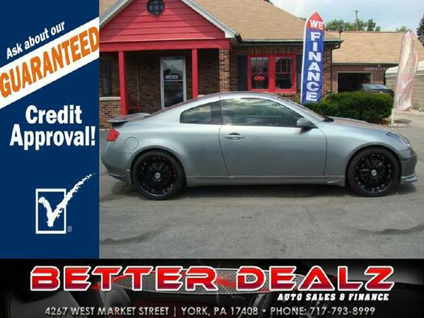 2005 Infiniti G35 Coupe - (Bad Credit? You are Approved Here!!)