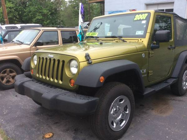 2007 JEEP WRANGLER X 4x4 INSPECTED AND READY TO GO!!!!!!!!!!!!!!!!!!!!