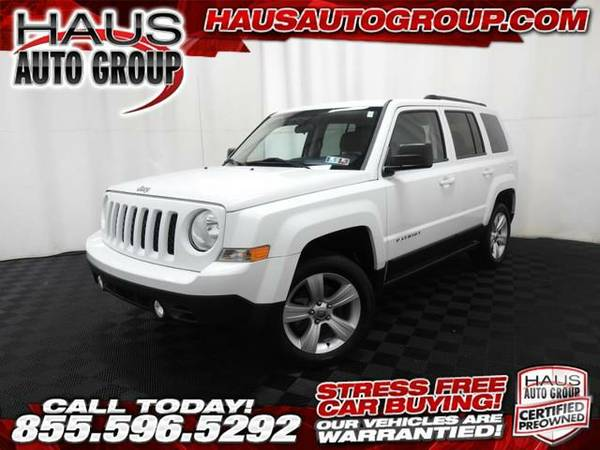 2014 *Jeep Patriot* Latitude - Jeep-INSTANT APPROVAL