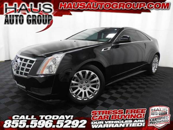 2014 *Cadillac CTS Coupe* - Cadillac-INSTANT APPROVAL