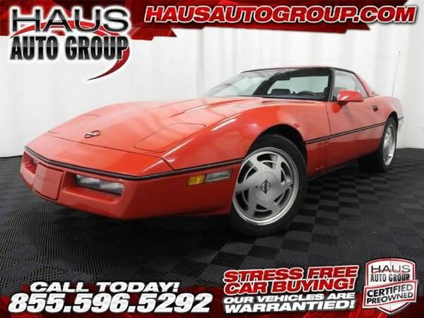 1988 *Chevrolet Corvette* - Chevrolet-INSTANT APPROVAL