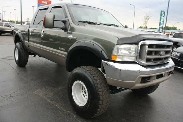2004 Ford F250-Diesel, 4X4, Lift, Huge Tires, Crew Cab