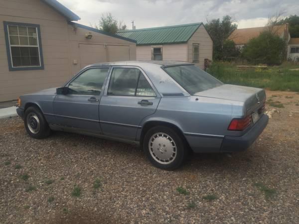 1985 Mercedes Benz 190 d 2.2
