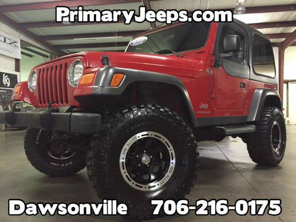 2004 *Jeep* *Wrangler* 4x4 Rocky Mountain -IN HOUSE FINANCE-FREE...