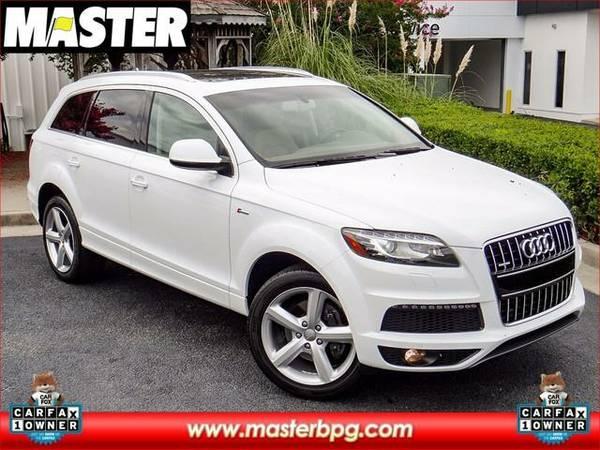 2012 *Audi Q7* 3.0T S LINE - (WHITE)