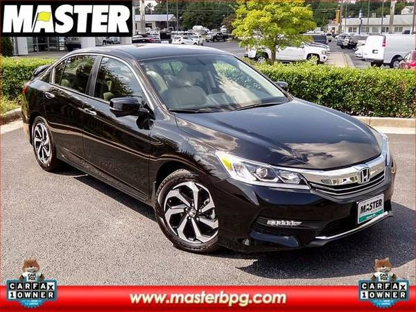 2016 *Honda ACCORD* EX-L - (Bla)