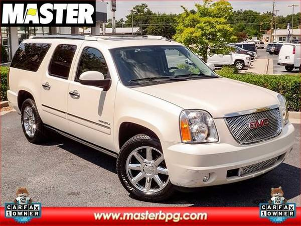 2013 *GMC YUKON XL* DENALI - (WHITE)
