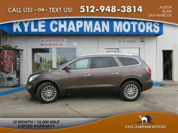 2009 Buick Enclave CXL,3RD ROW,BK UPCAM,HTD SEATS SUV Enclave Buick
