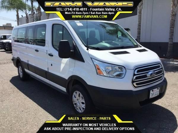 2015 Ford Transit-350 XLT LowRoof 15 Passenger Van