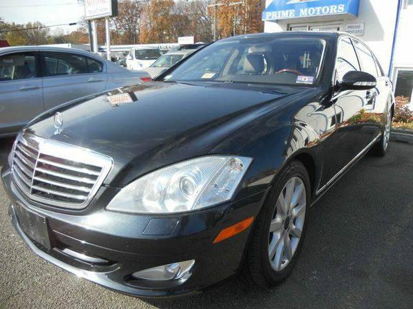 2008 *Mercedes-Benz* *S-Class* S550 4MATIC AWD 4dr Sedan