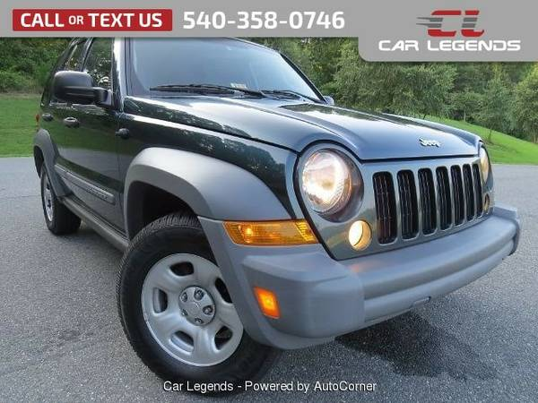 2005 Jeep Liberty SPORT UTILITY 4-DR SUV Liberty Jeep