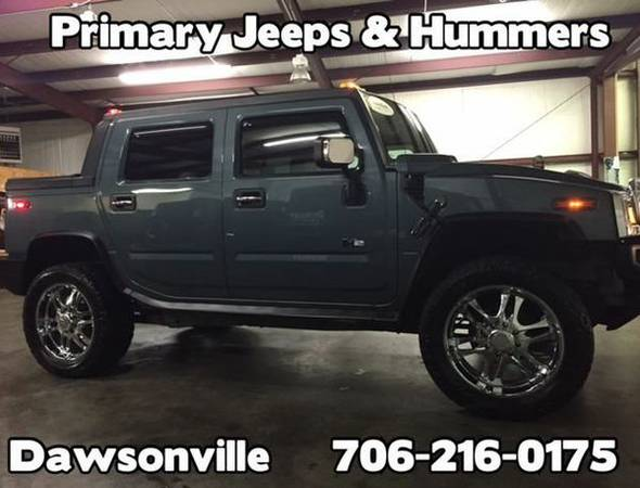 2005 *Hummer* *H2* SUT Truck 4x4 -IN HOUSE FINANCE-FREE...