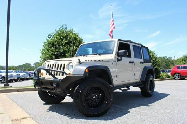 Stock 106164TN Jeep 2012 Wrangler 4D Sport Utility Unlimited Rubicon
