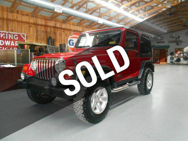 2003 *Jeep* *Wrangler* Rubicon