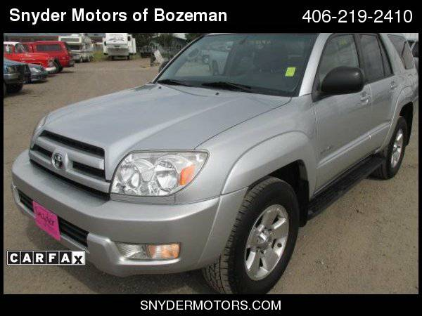2004 Toyota 4Runner ONLY 137K SunRoof 4X4