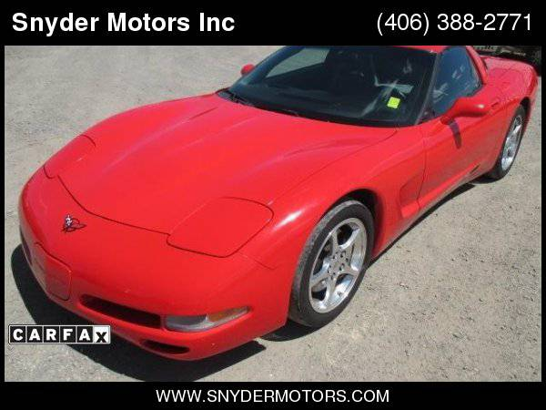 2001 Chevrolet Corvette Coupe Removable Hard-Top Leather SUPER CLEAN...