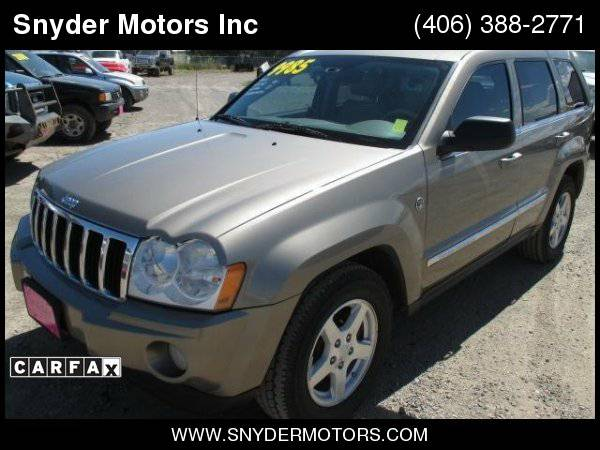 2005 Jeep Grand Cherokee Limited 4x4 5.7L Hemi Leather, Moonroof...