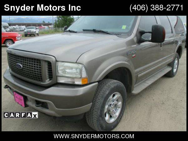2004 Ford Excursion Limited Diesel 4x4 3rd Row RARE!