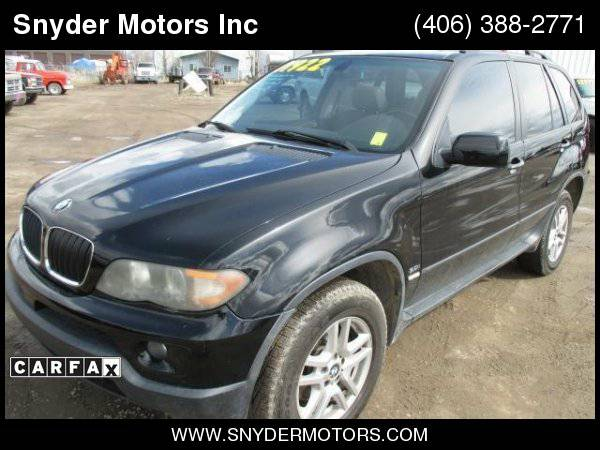 2005 BMW X5 3.0i AWD ONLY 88k Pan Roof SUPER CLEAN! REDUCED!