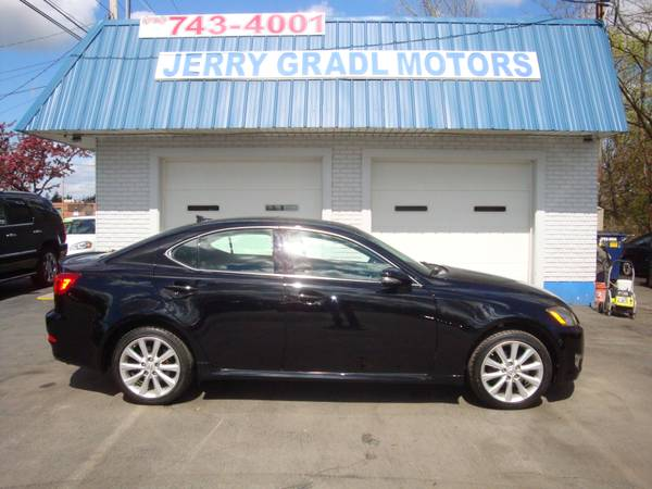 2009 LEXUS IS 250 AWD 6-SPEED SEQUENTIAL $14995