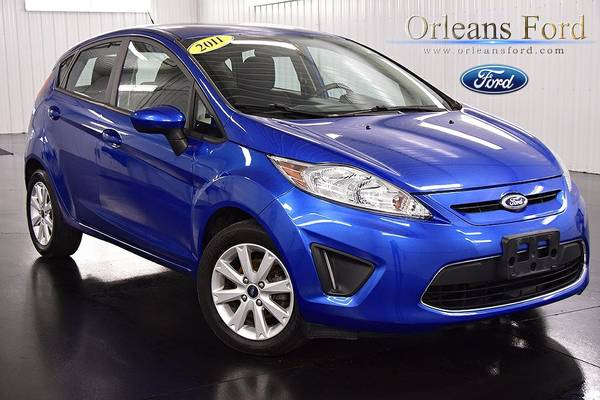 Stock 89577A 2011 Ford Fiesta 4D Hatchback SE