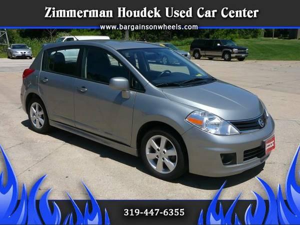 2012 Nissan Versa 1.8 SL Hatchback**GREAT MPG **AUX INPUT**BLUETOOTH**