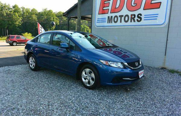 2013 *Honda* *Civic* LX 4dr Sedan 5A - AS LITTLE AS $500 DOWN. O.A.C.
