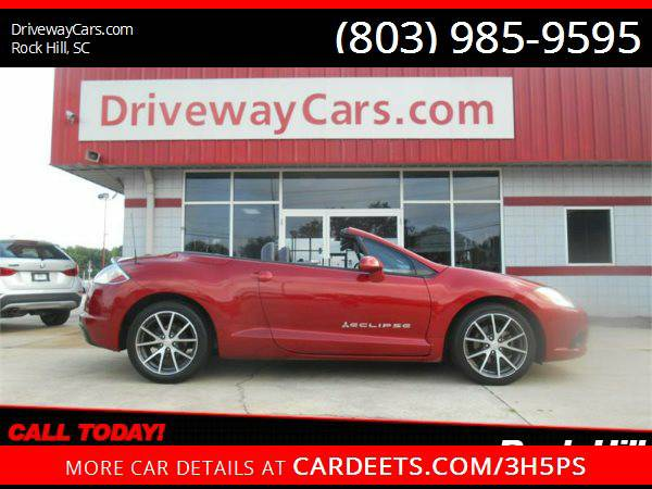 2011 MITSUBISHI ECLIPSE SPYDER GS, NUMBER 1 DEALER