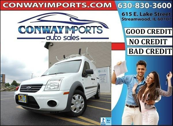 2010 *Ford* *Transit* *Connect* *Cargo Van* 4 Cylinder BAD CREDIT LOAN