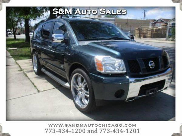 2005 *Nissan* *Armada* SE **100% approval is our goal**