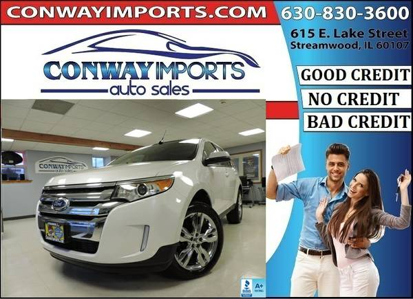 2013 *Ford* *Edge* *SEL* *LIMITED* NAVI - 1 OWNER *BAD CREDIT LOAN*