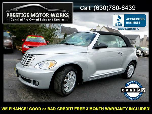 2006 Chrysler PT Cruiser Convertible! Certified FREE WARRANTY!