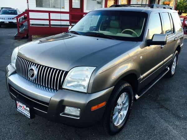 ///2006 Mercury Mountaineer Luxury///AWD///Fully Loaded///we Finance//