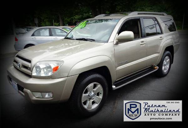 2003 Toyota 4Runner Limited Sport Utility 4x4