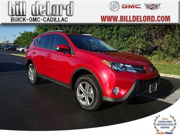 2015 *Toyota RAV4* XLE - (Red)