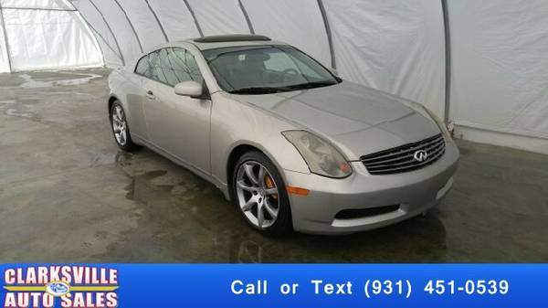 2004 Infiniti G35 Base Rwd 2dr Coupe w/Leather Coupe G35 Infiniti