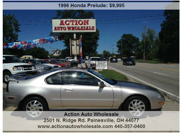 1996 Honda Prelude Si 2dr Coupe 2.3L I4 39K 5-Speed Moonroof No Rust