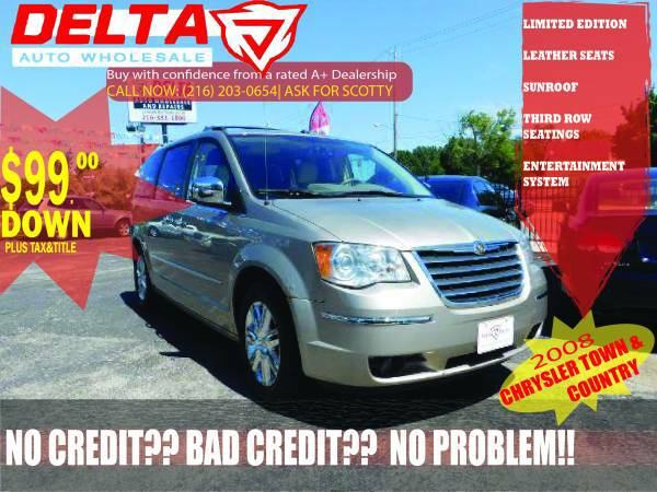 2008 Chrysler Town & Country Limited: VISIT FOR MORE CARS!! SAVE TONS!